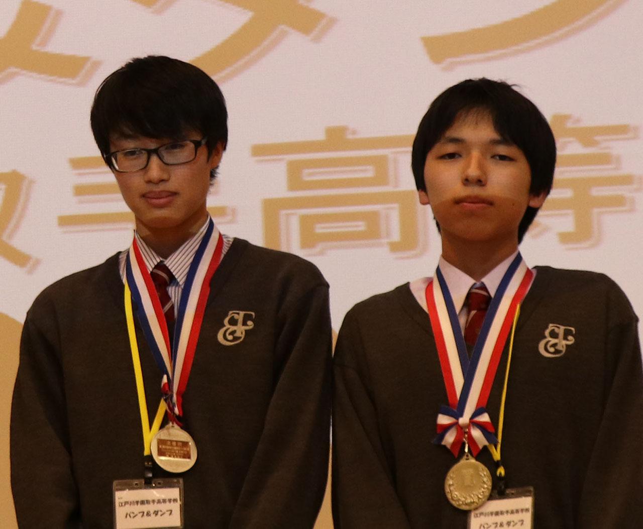 準優勝 土浦第一高等学校 日本語を話す人々